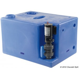 Waste water tank – 117 Litres (24v)