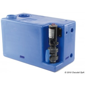 Waste water tank – 77 Litres (24v)