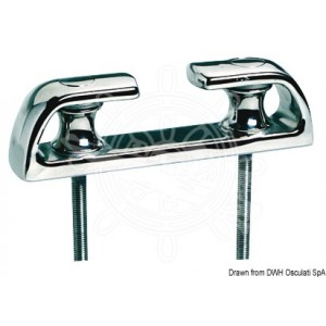 Stainless Steel Fairlead With Rollers