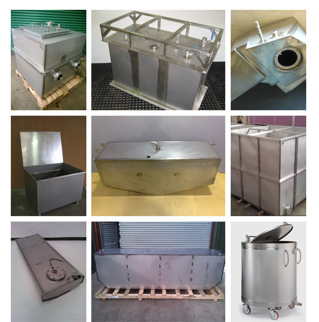Stainless Steel Tanks